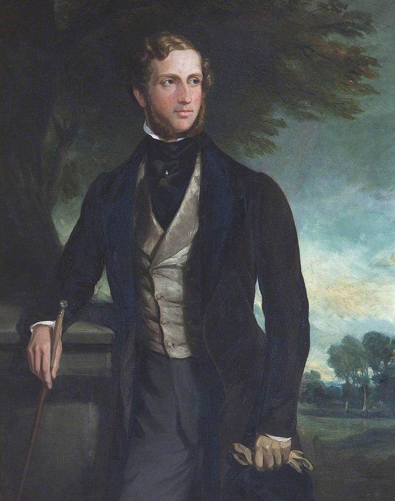 Фрэнсис Грант (1803–1878) - Джон Хьюм Эгертон (1812–1851), виконт Олфорд, член парламента - 436208 - National Trust.jpg