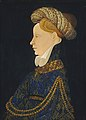 Franco Flemish c. 1410 - Profile Portrait of a Lady - NGA 1937.1.23.jpg
