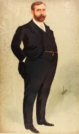 Frank Matcham - Matcham in Vanity Fair