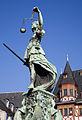 Frankfurt - Justice fountain in Römerberg - 1022.jpg