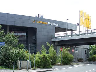 First class (aviation) - Lufthansa's First Class Terminal at Frankfurt Airport