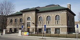 Franklin Library (Minneapolis) - Image: Franklin Branch Library 2