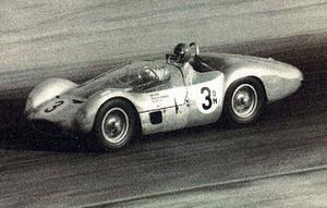 Fred Gamble (racing driver) - 1961 U.S. National Championship - Gamble in a Type 61 Maserati