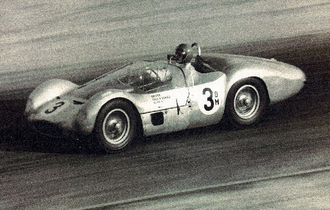 Fred Gamble (racing driver) - 1961 U.S. National Championship - Gamble in a Type 61 Maserati