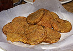 Fried green tomatoes