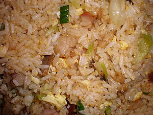 Fried rice from Fried rice from Andy's Chinese...