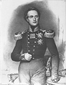 Friedrich August, Lithographie von Franz Hanfstaengl 1842 (Quelle: Wikimedia)