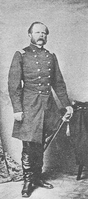 Frederick W. von Egloffstein - Baron Friedrich Wilhelm von Egloffstein as colonel of the 103rd New York Volunteer Infantry, 1861-1862