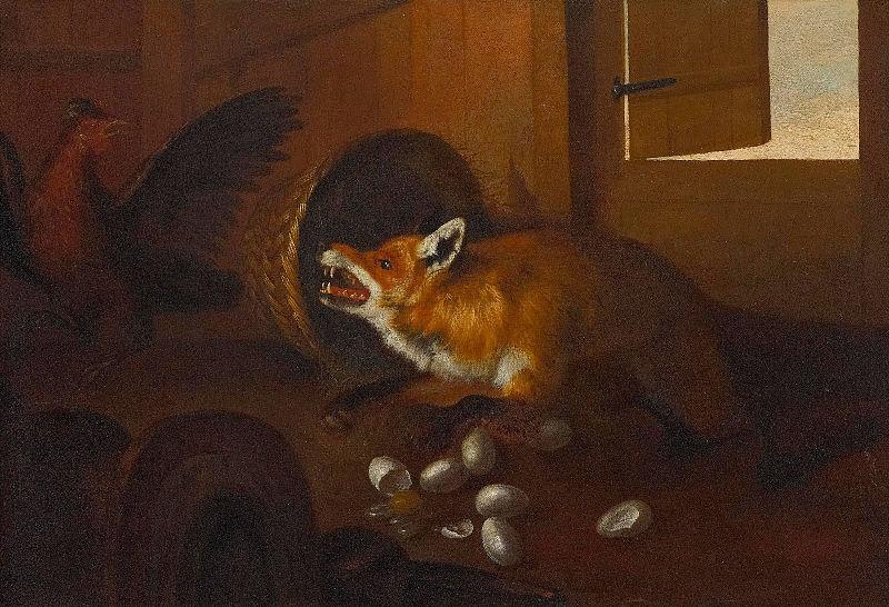 File:Fuchs im Hühnerstall flämisch.jpg