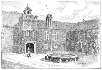 Fulham Palace - Fulham Palace in 1902