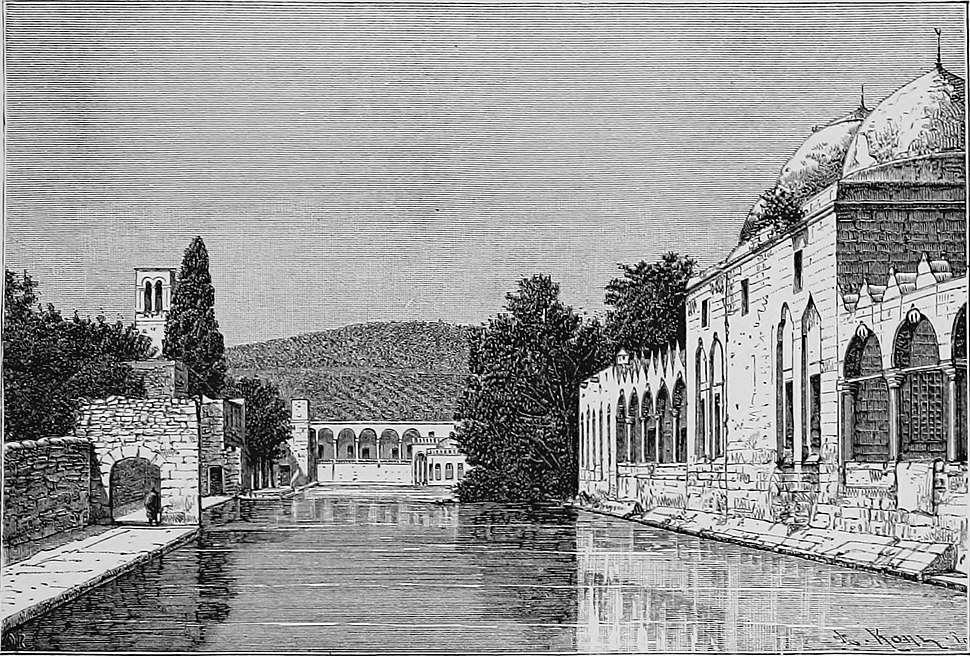 Funtain of Abraham in Şanlıurfa