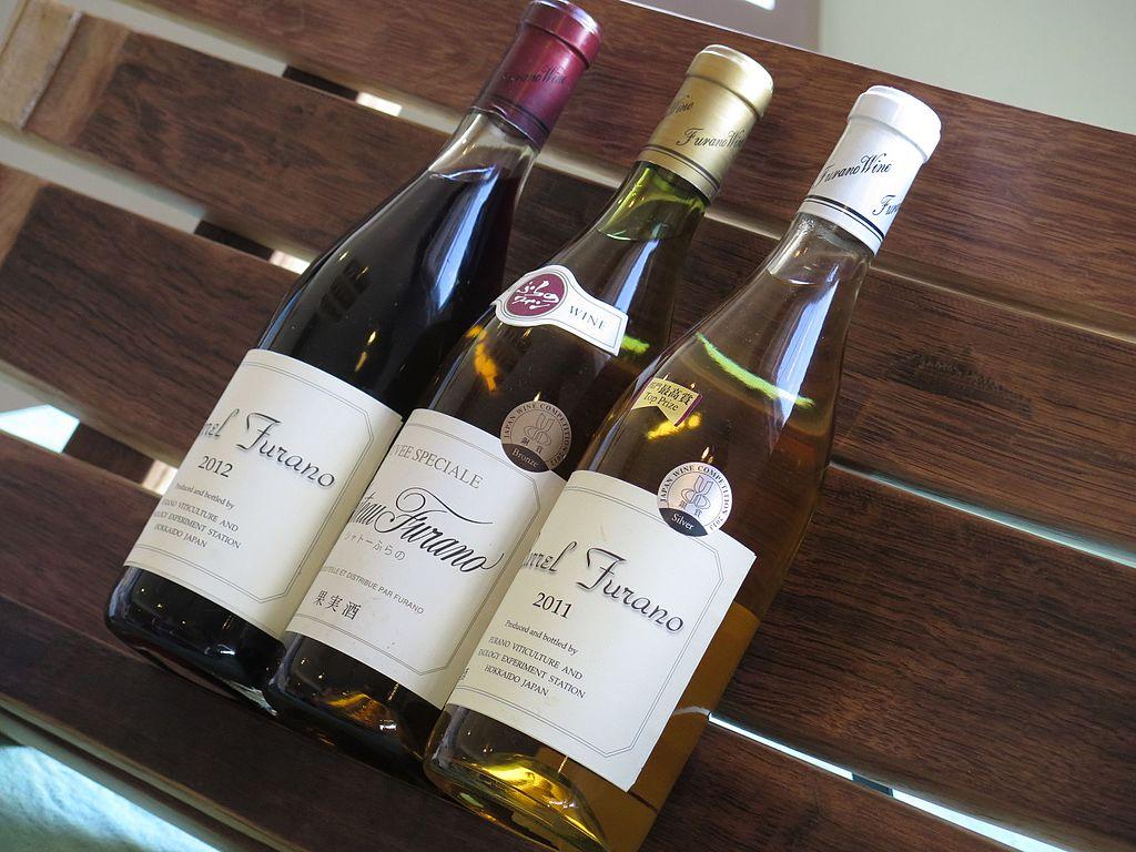 Furano Wine Bottles