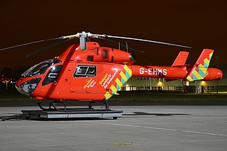 MD Helicopters MD Explorer - London's Air Ambulance operate 2 MD902s
