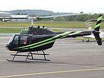 G-ONTV Bell Jet Ranger 206 Helicopter (26905333130).jpg
