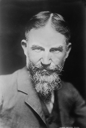 George Bernard Shaw date between 1900-1910