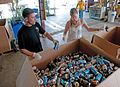 GIs volunteer and recycle cans at Guantanamo.jpg