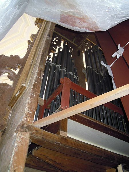 File Gaeta Santuario Della Santissima Annunziata Organo