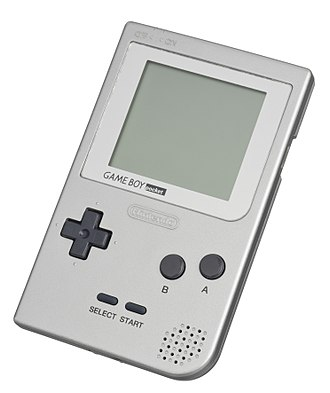 Game Boy - The 1st release Game Boy Pocket