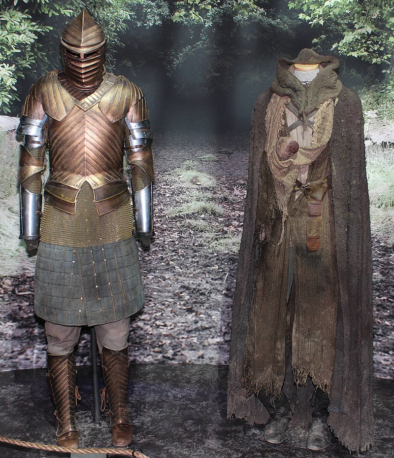 Game of Thrones Oslo exhibition 2014 - Brienne and Jaime costumes.jpg