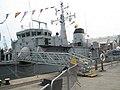 Gang plank up to HMS Hurworth - geograph.org.uk - 901799.jpg
