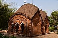Gangeswar Temple at Baronagar in Murshidabad District 01.jpg