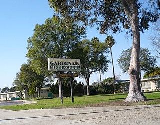Gardena High School Public school in Gardena, California, United States