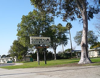 Harbor Gateway, Los Angeles - Gardena High School