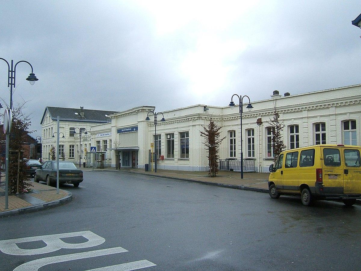 Gare d'Erquelinnes — Wikipédia
