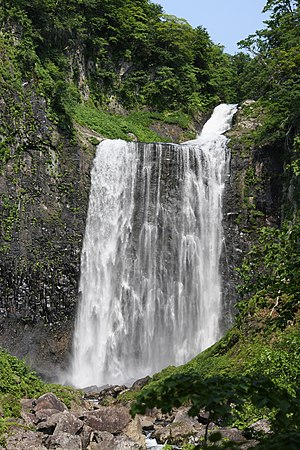 Japan's Top 100 Waterfalls - Image: Garoh Fall