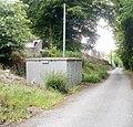 Gas box, Church Wood, Pontypool - geograph.org.uk - 2429713.jpg