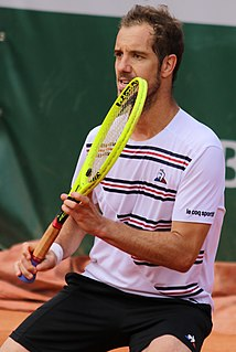 Richard Gasquet French tennis player