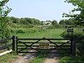 Gate to Private Fishing Lake - geograph.org.uk - 440140.jpg