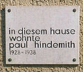 Gedenktafel Brixplatz 2 Paul Hindemith.JPG