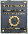 Gedenktafel Herderplatz (Weimar) Johann Gottfried Herder.jpg