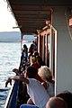 Gelendzhik resort. Vacationers on a pleasure boat.jpg