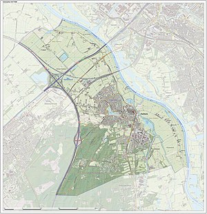 Hattem - Dutch Topographic map of Hattem, June 2015