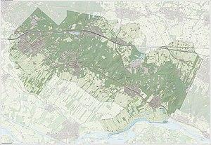 Utrechtse Heuvelrug - Image: Gem Utrechtse Heuvelrug Open Topo