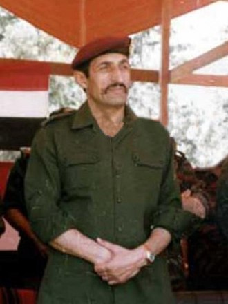 14th Special Forces Division - Maj.Gen. Ali Haidar, the father of Syrian special forces.