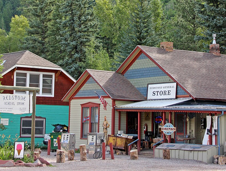 File:General store and adjacent building, Redstone, CO.jpg