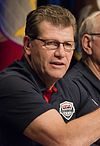 Geno Auriemma in 2014