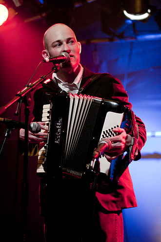 Geoff Berner - Geoff Berner performing at Hulen, Bergen, in 2011