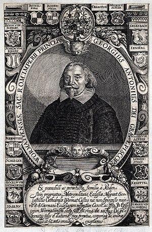 Georg Anton von Rodenstein - Georg Anton von Rodenstein