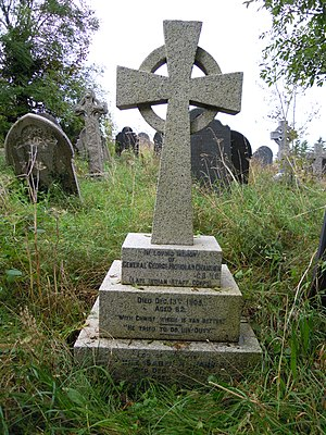George Channer - The grave of George Channer VC in East-the-Water Cemetery in Bideford