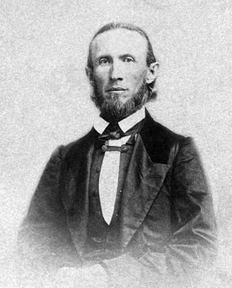 Oregon Secretary of State - Image: George Law Curry in 1860s
