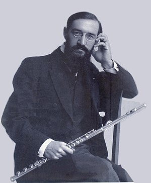 Georges Barrère - Barrère in New York in 1908