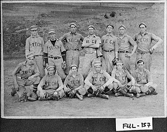 Georgia Tech Yellow Jackets baseball - Georgia Tech Baseball 1907