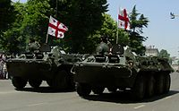 Georgian BTR-80s, Independence day cropped.jpg
