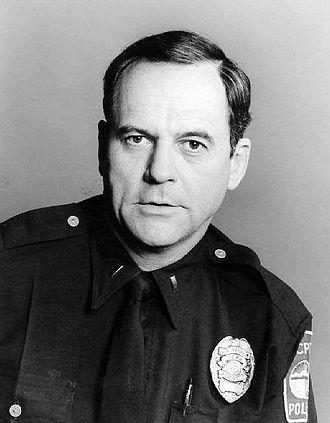 Gerald S. O'Loughlin - O'Loughlin as Eddie Ryker in The Rookies.