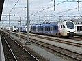 Gerangeerde Arrivatreinen in Maastricht.jpg