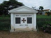 German WW1 Memorial in Iringa